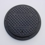 Lightweight Composite Manhole Cover 315 mm Clear Opening Load Rated to A15 CC0315A15
