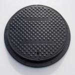 Lightweight Composite Manhole Cover 425 mm Clear Opening Load Rated to A15 CC0425A15
