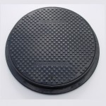 Lightweight Composite Manhole Cover 600mm Clear Opening Load Rated to D400 CC0600B125