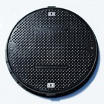 Lightweight Composite Manhole Cover 900 mm Clear Opening  with Locks. Load Rated to D400 CC0900D400