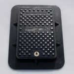 Lightweight Composite Manhole Cover 300 x 210mm Clear Opening Load Rated to C250  CC3021C250
