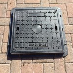 Lightweight Composite Manhole Cover  450 x 450mm Clear Opening Load Rated to B125  CC4545B125JM