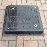 Lightweight Composite Manhole Cover  450 x 450mm Clear Opening Load Rated to C250 CC4545C250JM
