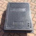Lightweight Composite Manhole Cover 600 x 450mm Clear Opening Load rated D400  CC6045D400JM