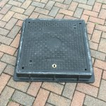 Lightweight Composite Manhole Cover 600 x 600mm Clear Opening Load rated D400  CC6060D400JM