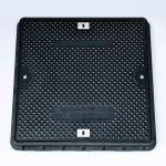 Lightweight Composite Manhole Cover 750 x 750mm Clear Opening Load Rated B125   CC7575B125