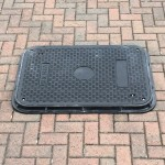 Lightweight Composite Manhole Cover 900 x 600 mm Clear Opening Load Rated to B125 CC9060B125JM