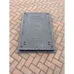 Lightweight Composite Manhole Cover 900 x 600 mm Clear Opening Load Rated to D400 CC9060D400JM
