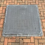 Lightweight Composite Manhole Cover 900 x 900 mm Clear Opening Load Rated to B125 CC9090B125