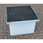 Drawpit Chamber 650 x 650 x 506mm complete with 38mm Composite Grate DPC650-650-506G