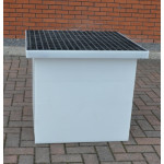 Drawpit Chamber 650 x 650 x 806mm complete with 38mm Composite Grate DPC650-650-806G