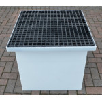 Drawpit Chamber 650 x 650 x 656mm  complete with 38mm Composite Grate DPC650-650-656G