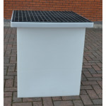 Drawpit Chamber 650 x 650 x 956mm  complete with 38mm Composite Grate DPC650-650-956G