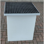 Drawpit Chamber 650 x 650 x 1156mm  complete with 38mm Composite Grate DPC650-650-1156G