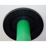 "Cable Entry Bulkhead suitable for 3"" (90mm) Duct to Seal upto 8 cable entries CTB-7450B3"