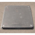 Lightweight Composite Manhole Cover 600 x 600mm Clear Opening Load Rated B125  CC6060B125