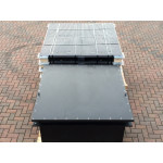 Sealed Drawpit Chamber 1350 x 1350 x 627mm For use under non watertight cover 1500 x 1500mm