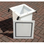 Sealed Drawpit Chamber 450 x 450 x 500mm For use under non watertight cover DPC450-450-500LID