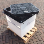 Direct Fill Sump 650 x 650 x 656 D400 c/w Safety Grate