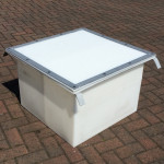 Sealed Drawpit Chamber 650 x 650 x 500mm  DPC650-650-500LID