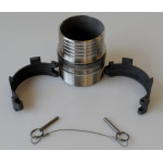 "Barbed Adapter for 4"" Flexible Pipework BMA-0400B"