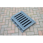Composite Gully Grate & Frame 510 x 310mm Clear Opening. Rated D400 (40 Tons) CG5131D400