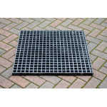 Fibreglass Grate Unit  750 x 750mm . Load rated to A15 (1.5 Tons) FGG750-750A15