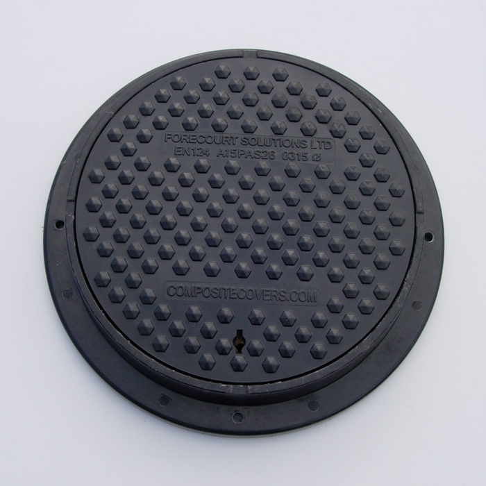 315mm circular manhole cover & frame