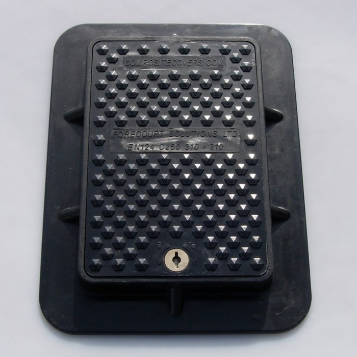 350 x 250mm Rectangular Manhole Cover
